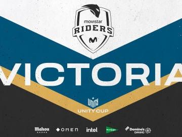 Movistar Riders se proclama campeón de la Unity Cup