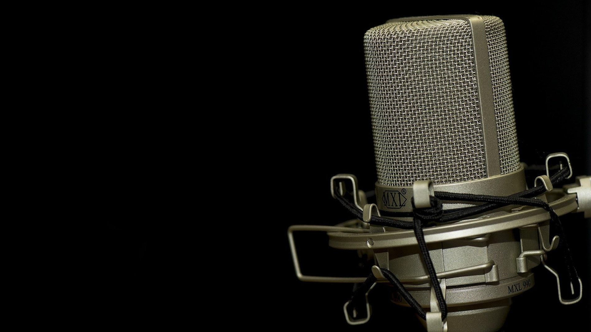 Micrófono de rádio