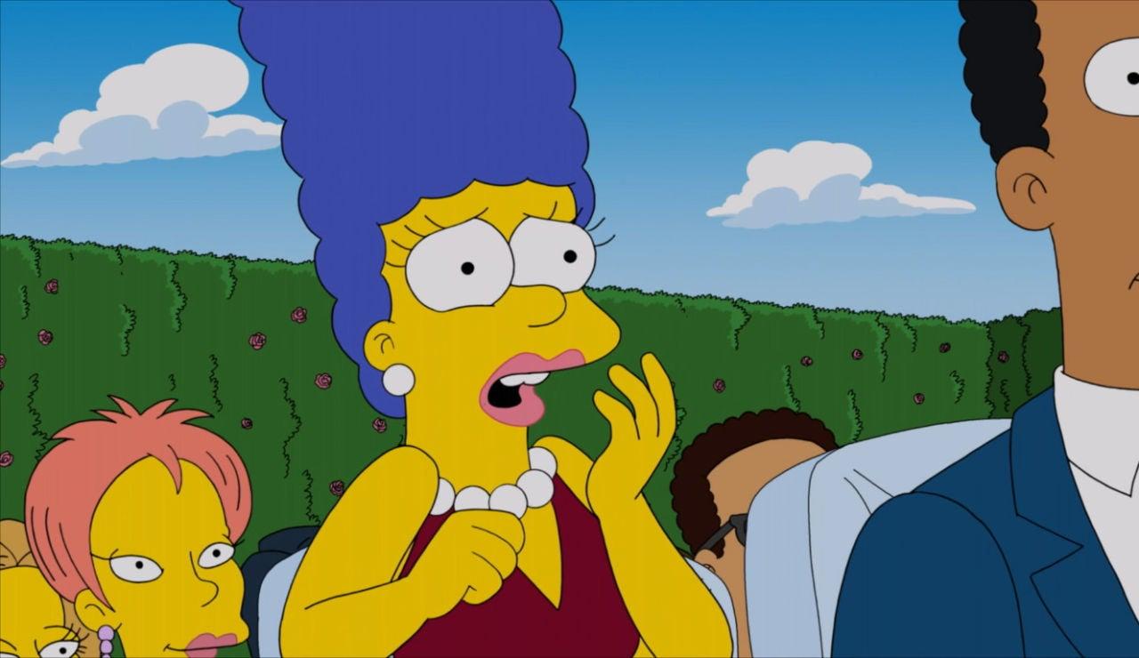 Marge, sorprendida