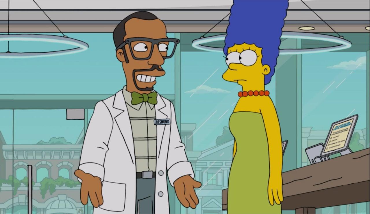 El nuevo trabajo de Marge