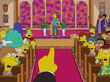 El reverendo Lovejoy recupera su iglesia