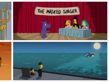 Los guiños de Los Simpson a las series, programas y películas más populares