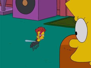 David Bowie en Los Simpson