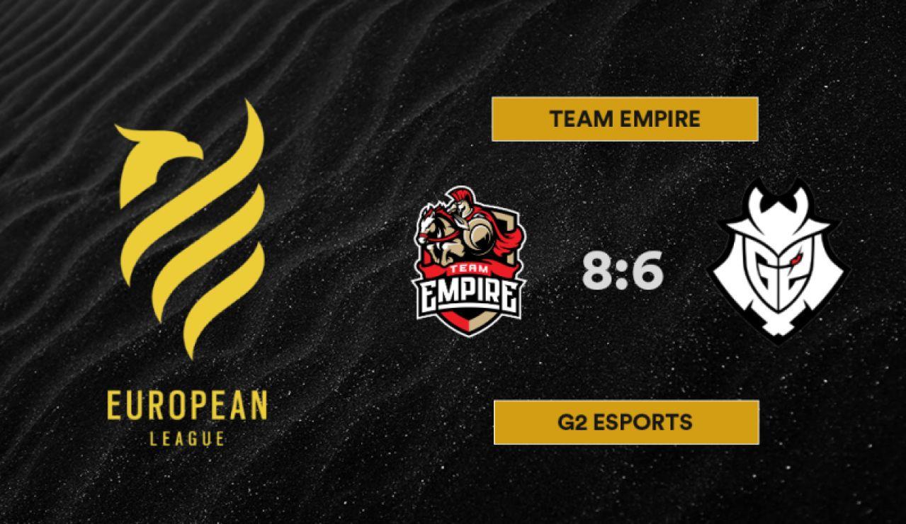 Team Empire vence a los samuráis en la European League