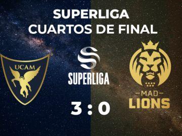 UCAM Esports se impone a los leones