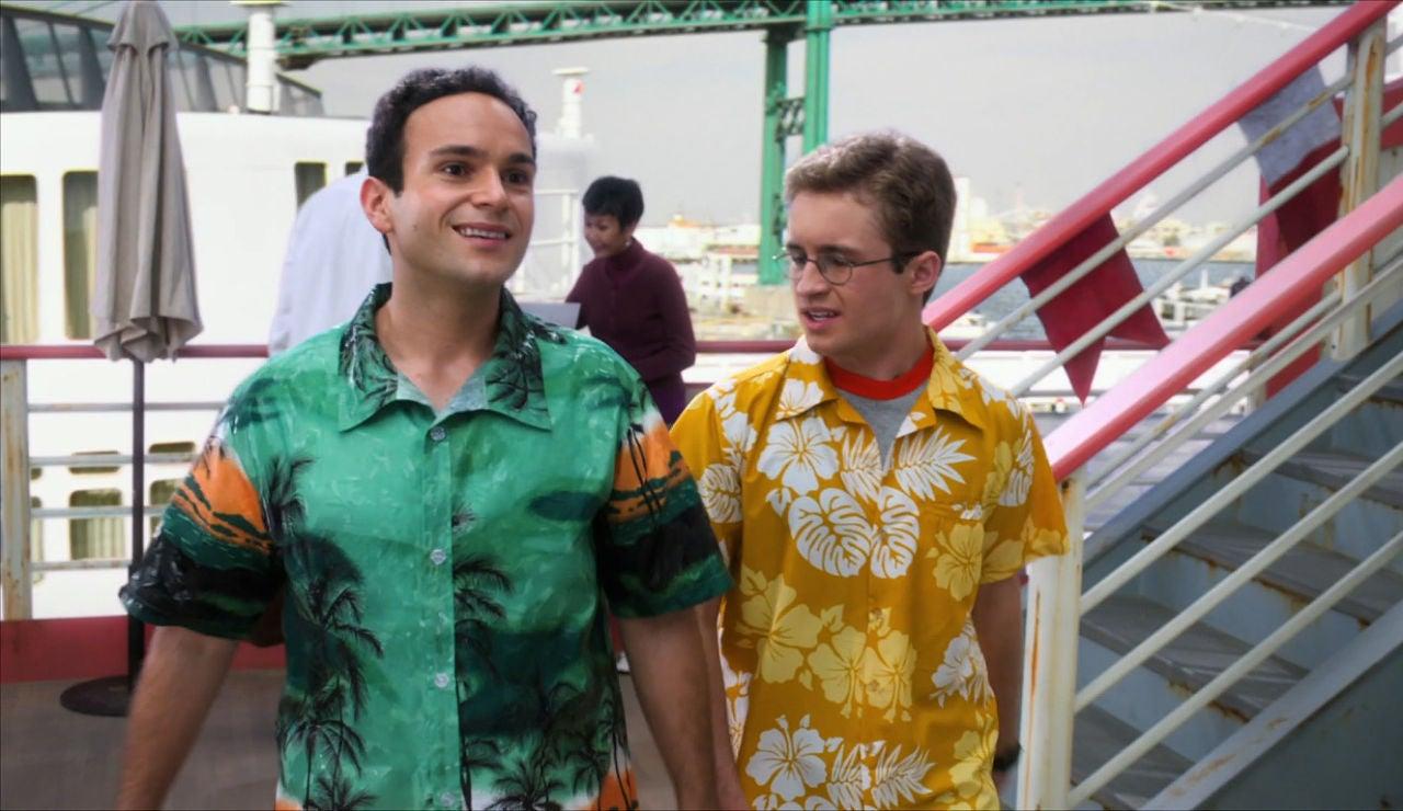 Barry y Adam de crucero