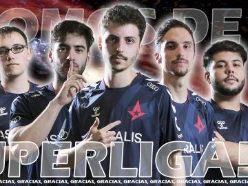 Astralis SB se convierte en el nuevo equipo de la Superliga