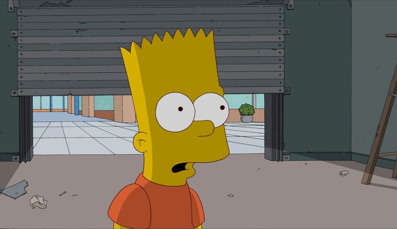 Bart, sorprendido