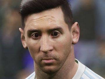Messi en eFootball 2022