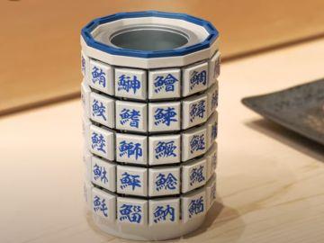 ¿Genialidad o incómodo? Google Japón inventa un teclado con forma de taza de té