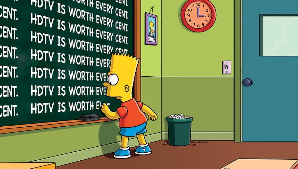 Nueva cabecera de Los Simpson