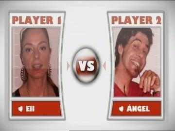 Primera cita entre Ángel y Eli