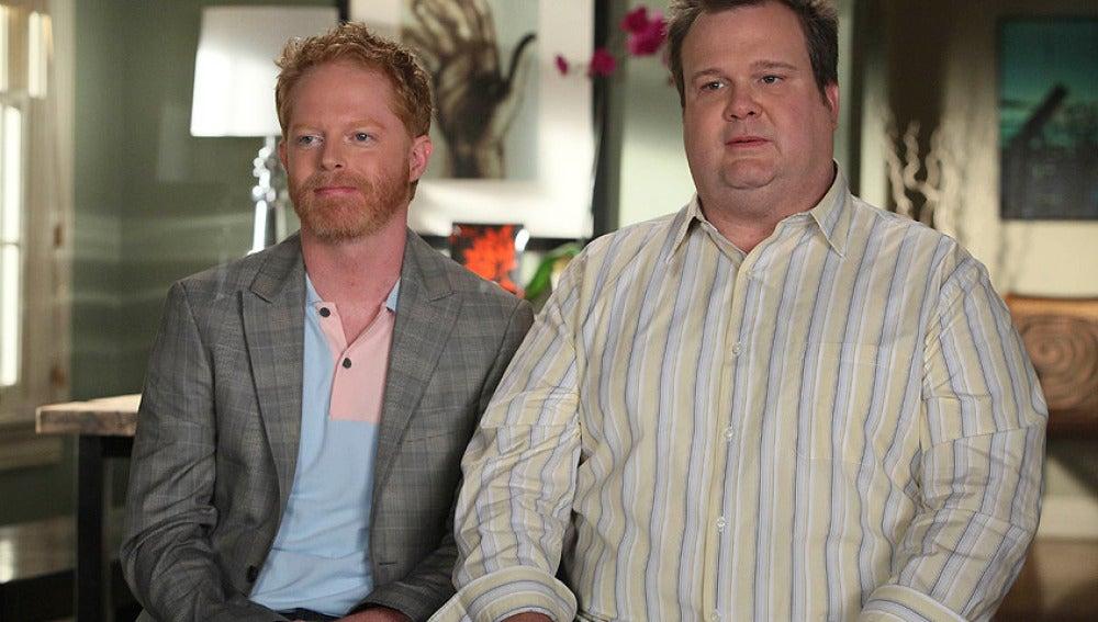 Mitchell y Cameron en Modern Family