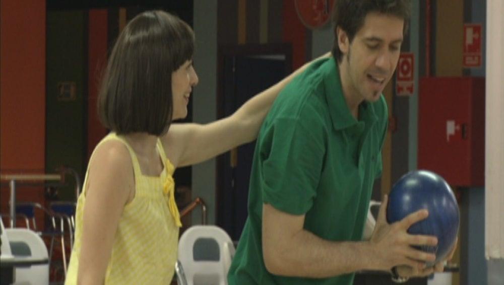 Alessandra y Ángel en Impares