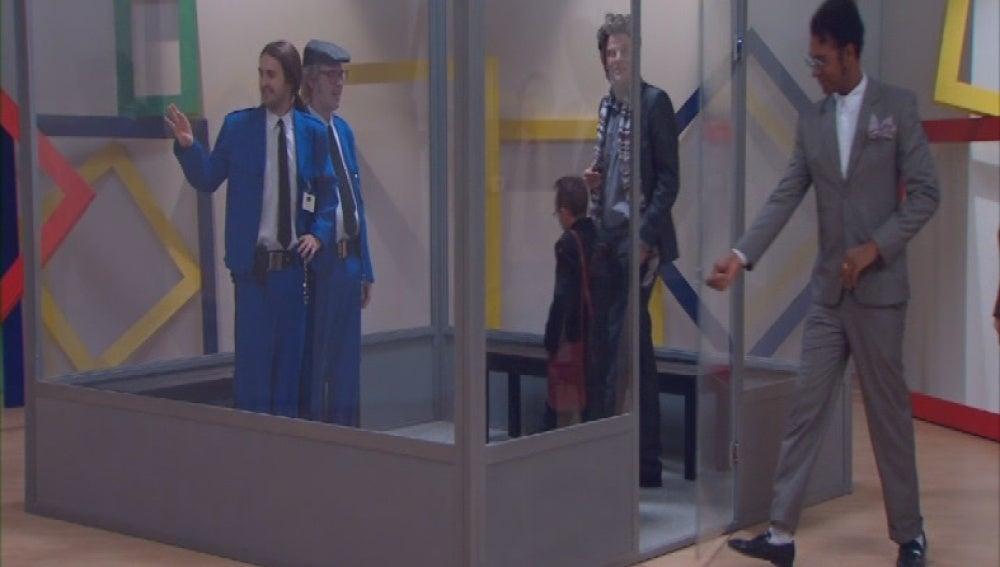 Encerrados en un cubo como obra de arte (1x11)
