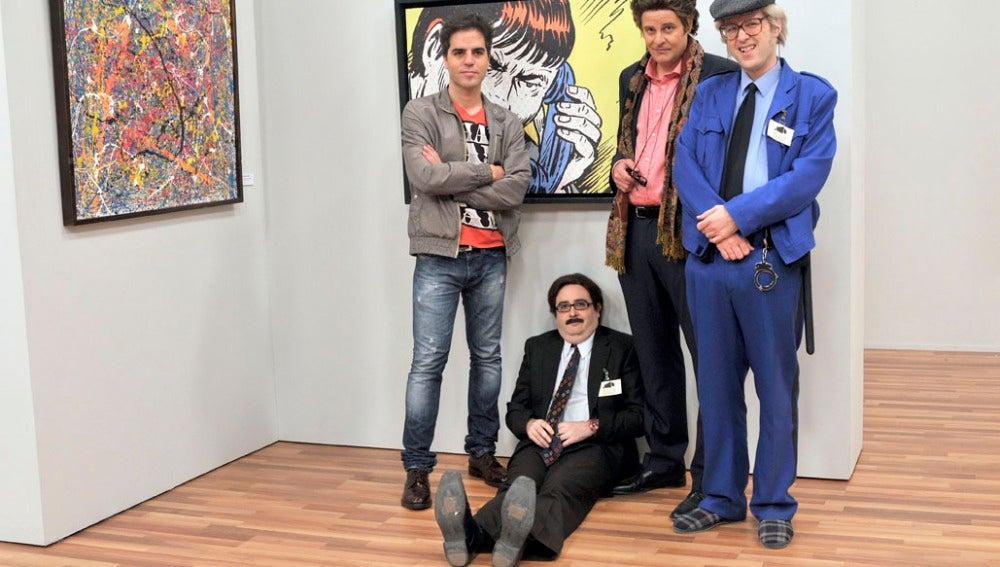 Ernesto, Rosario, Jaime y Onofre
