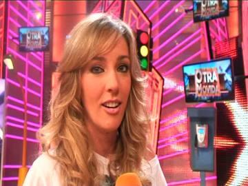 Anna Simón en la entrevista en Otra Movida