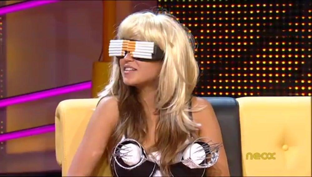 Ana Fernández se convierte en Lady Gaga