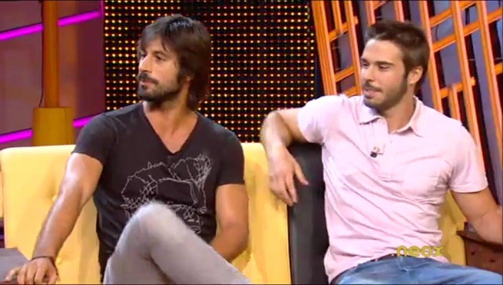 Hugo Silva y Álex Barahona en Otra Movida