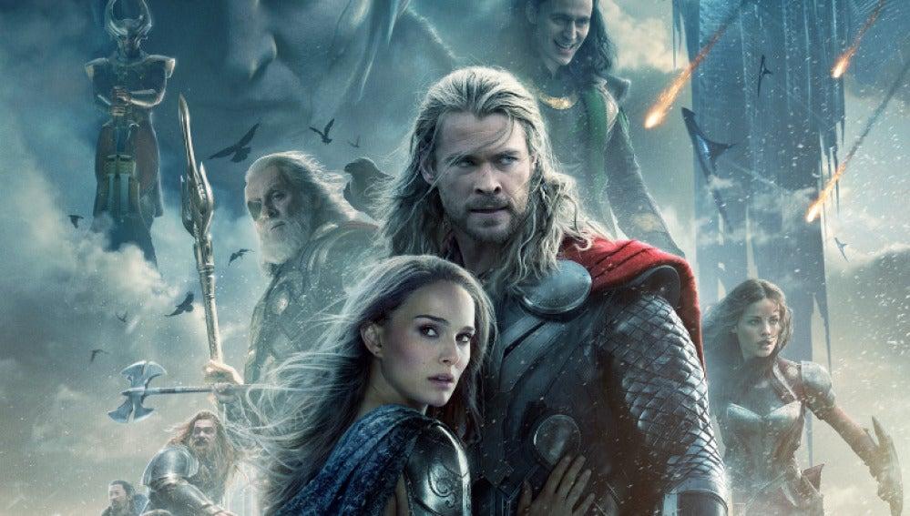 Cartel de 'Thor: El mundo Oscuro'