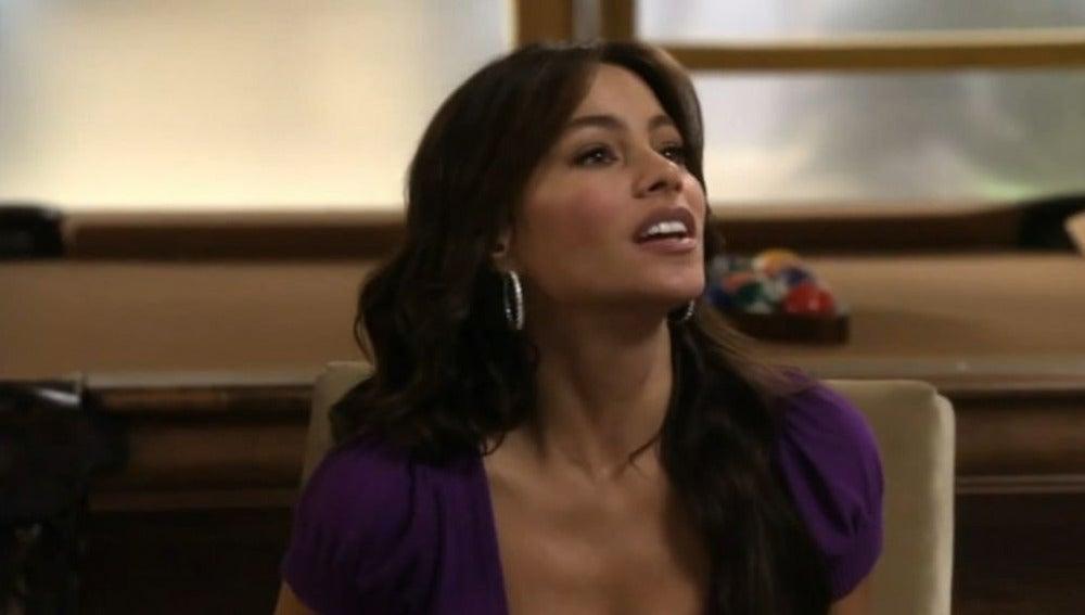 Sofía Vergara es Gloria en 'Modern family'