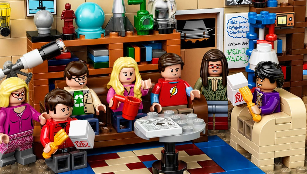 Set LEGO de 'The Big Bang Theory'