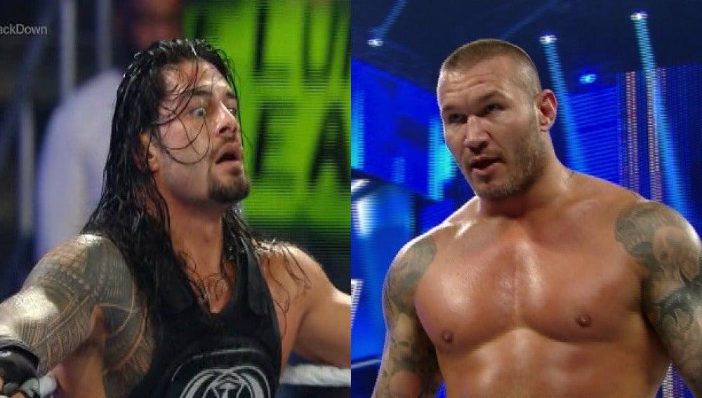 Rollins y Orton en 'SmackDown'