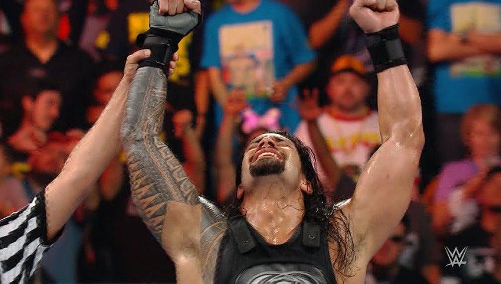 Roman Reigns se convierte en el aspirante al título de la WWE en 'Raw'