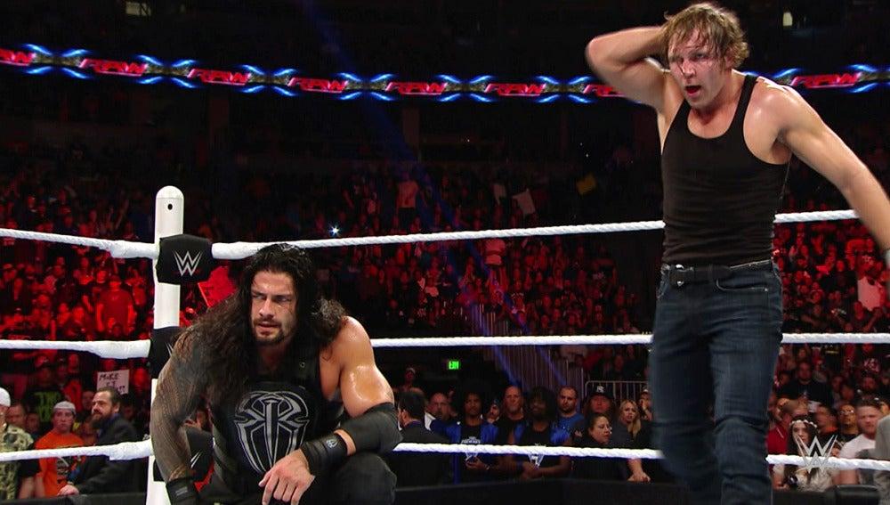 Team Reigns se deshace del Team Rollins