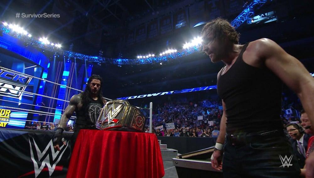 Reigns y Ambrose despejan su camino a Survivor Series