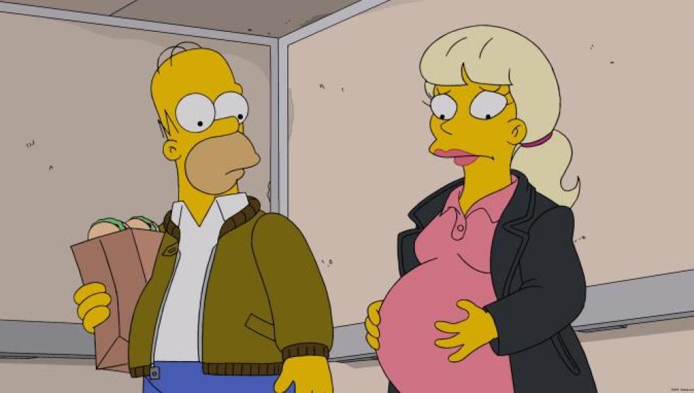 Los Simpson C535 'Dolores de parto'
