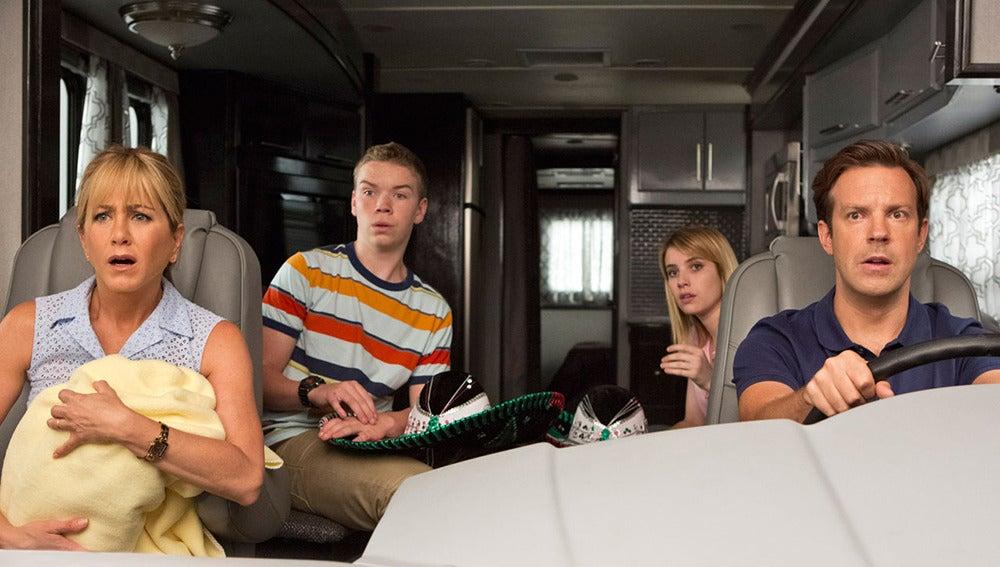 Escena de la película 'Somos los Miller'