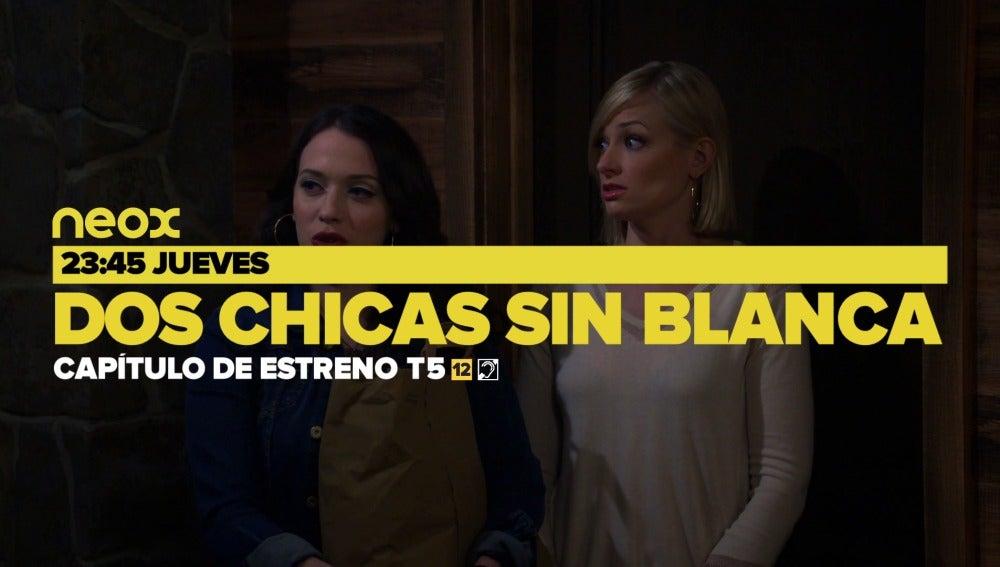 Capítulo de estreno de 'Dos chicas sin blanca'