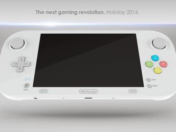 Hipotético mando de Nintendo NX
