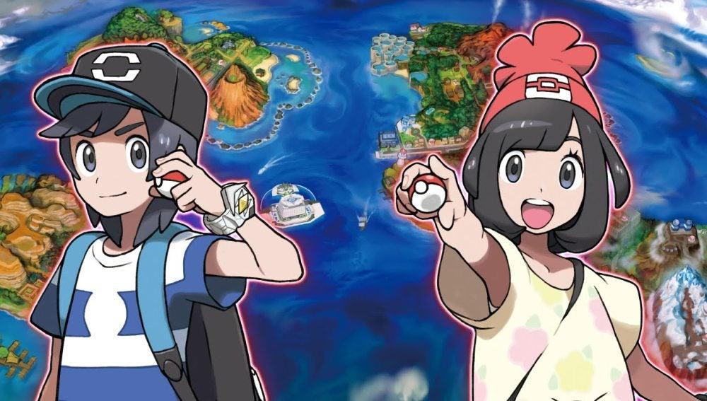 Personajes de Pokémon Sol y Luna