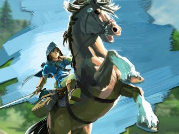 Link en Zelda: Breath of the Wild