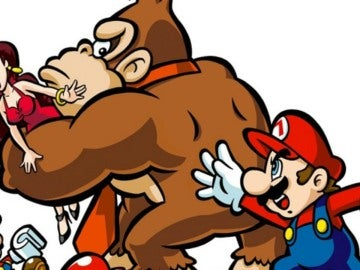 Donkey Kong, Pauline y Mario