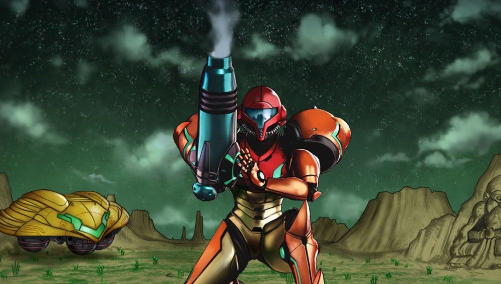 Artwork de Metroid II