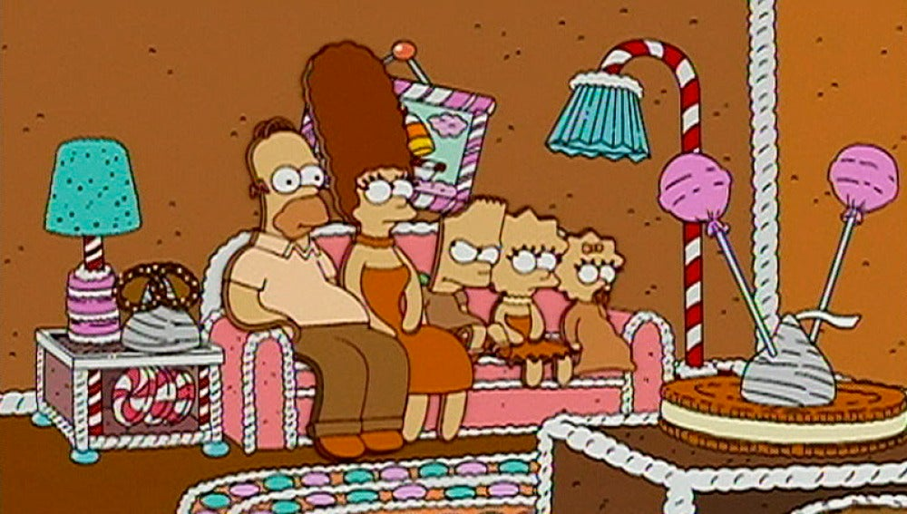 Los Simpson se convierten en galletas
