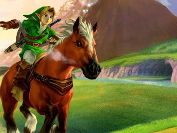 Link en Ocarina of Time