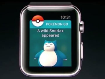 Pokémon GO en iWatch