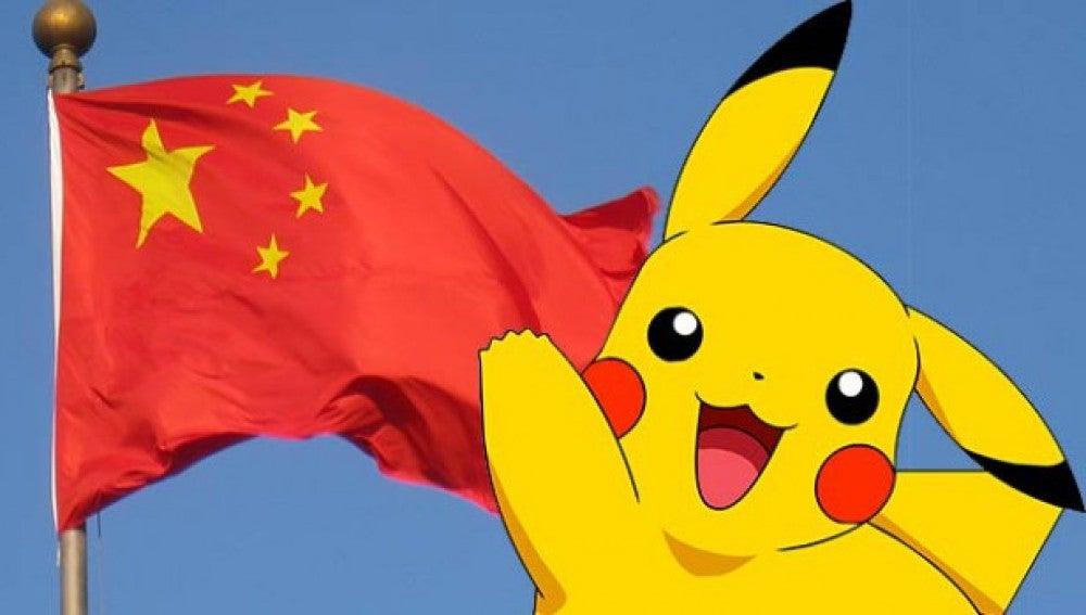 Pikachu en ¿China?