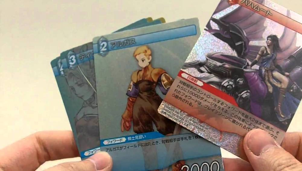 Cartas de Final Fantasy