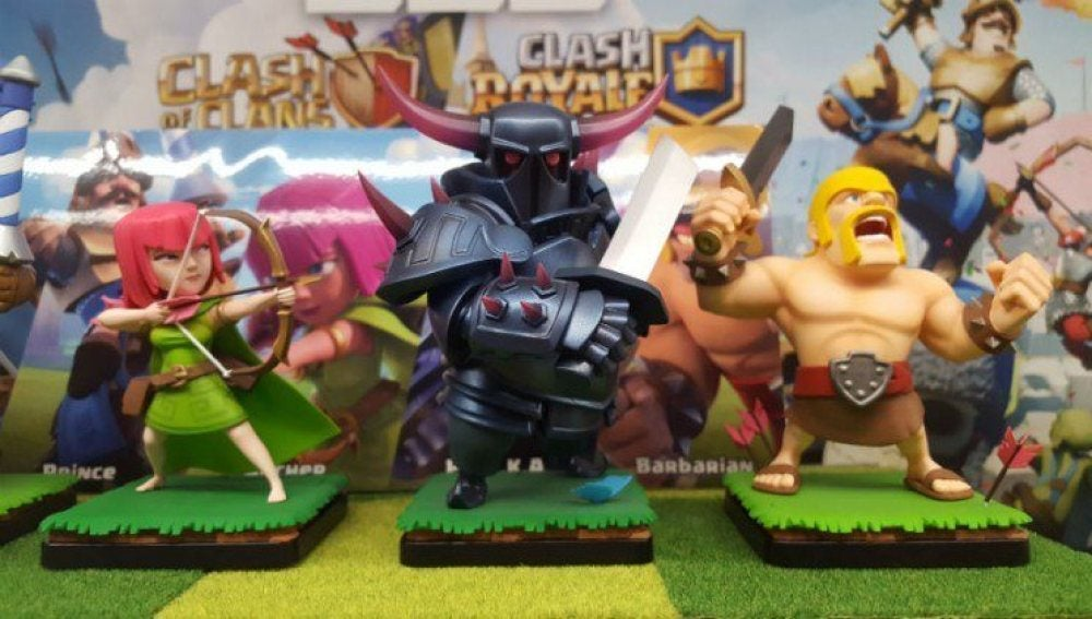 Figuras de Clash of Clans