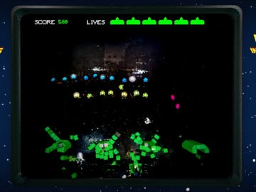 Space Invaders, versión humana