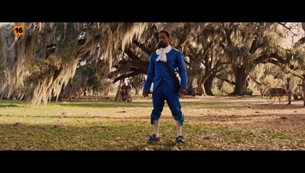 Frame 12.923325 de: 'Django, desencadenado' en Cinematrix
