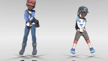 Parodia de los personajes principales de Pokémon