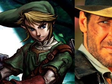 Link e Indiana Jones
