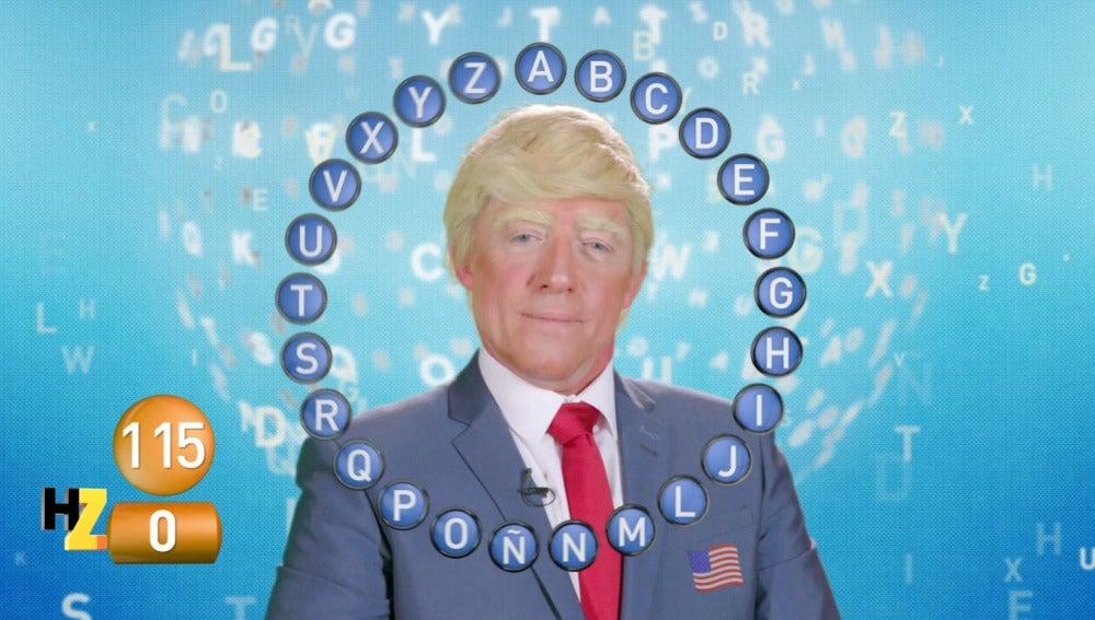Trump en Pasapalabra