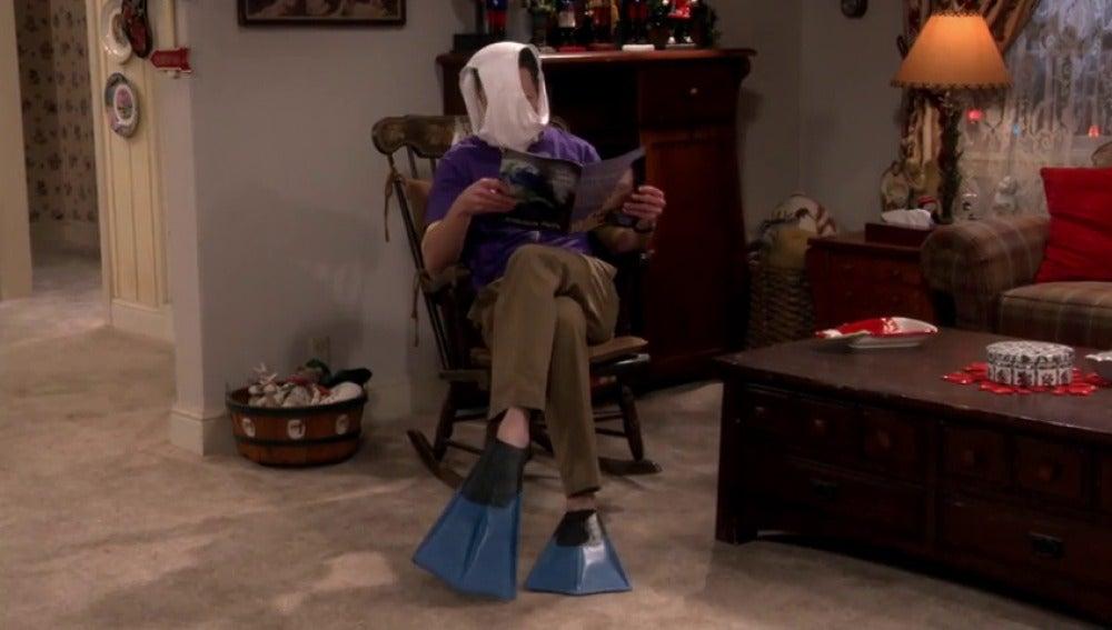 Frame 9.958529 de: Sheldon es el excéntrico asocial que creía su madre